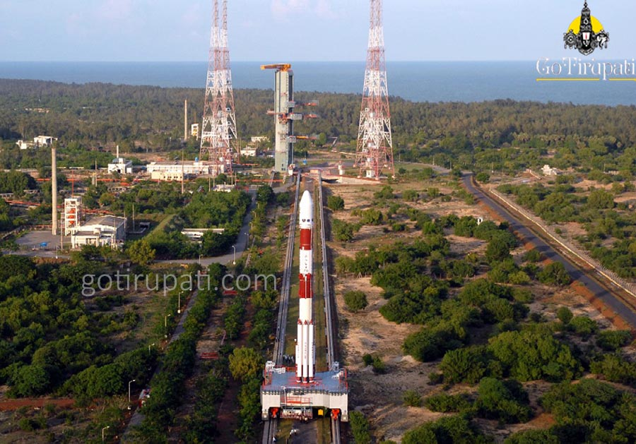 Sriharikota rocket launch